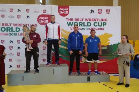 Руслан Русанов став призером Кубка світу з боротьби на поясах
