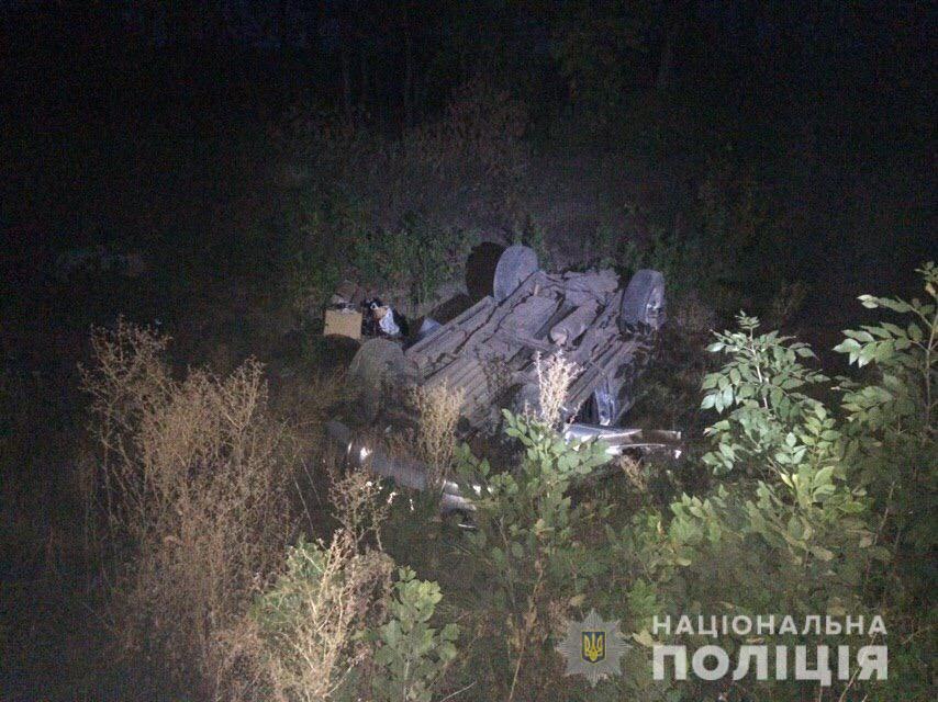 На Харківщині перекинувся джип. Загинула жінка
