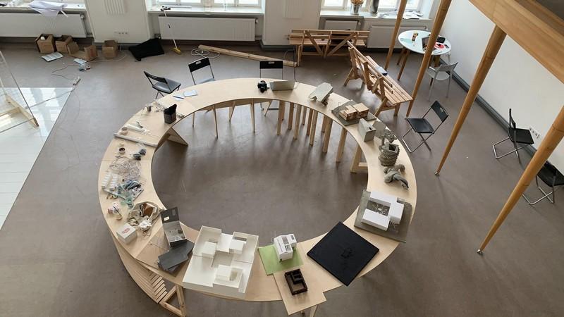 Виставка-підсумок студентів архітектурної школи