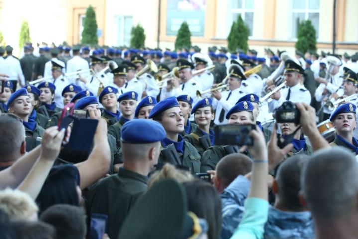 Першокурсникиакадемії Національної гвардії України склали присягу