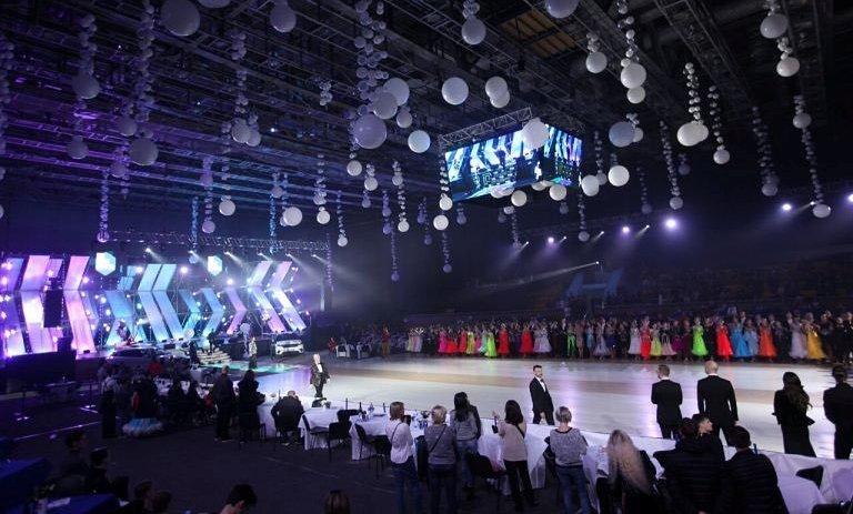 Відбувся міжнародний фестиваль спортивного бального танцю