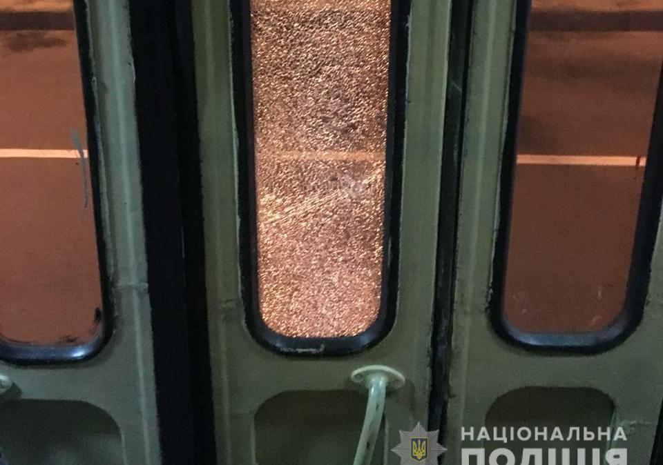 УХаркові невідомі обстріляли трамвай