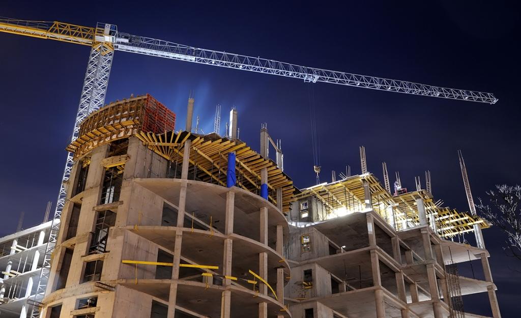 На Харківщині зростають обсяги будівництва
