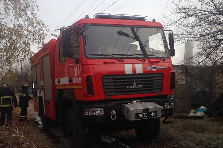 Протягом тижня на Харківщині сталося 134 пожежі