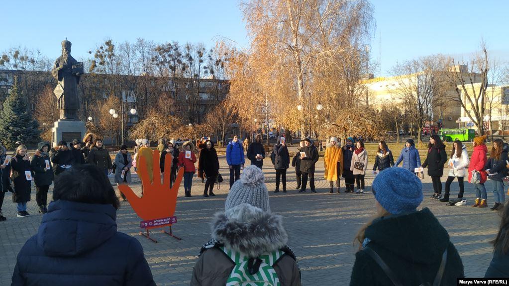 У всіх районах Харкова провели соціальний флешмоб
