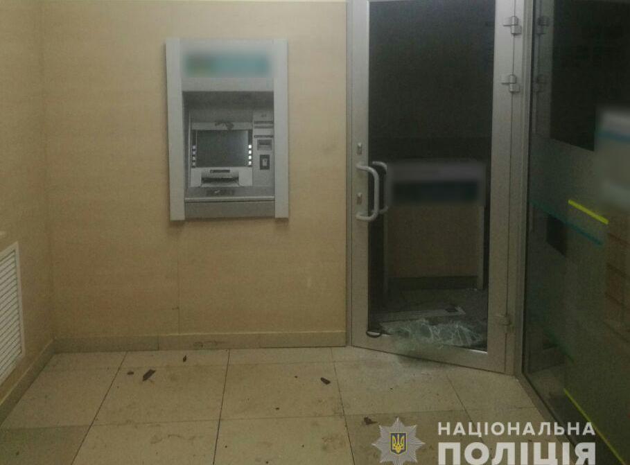 В Київському районі Харкова вночі підірвали банкомат