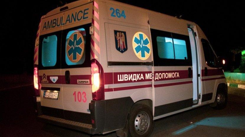 На Харківщині перекинувся мікроавтобус