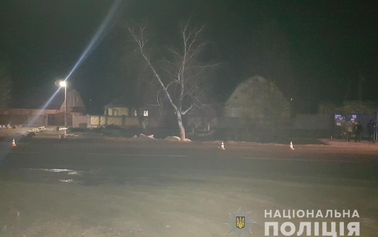 Поліція шукає свідків ДТП у Дергачівському районі