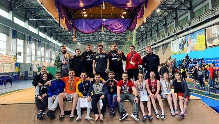 Харківські сумоїсти виграли чемпіонат України