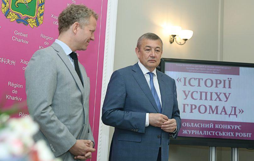 Сергій Чернов: Харківщина стала першим регіоном, який ініціювавжурналістський конкурс з висвітлення реформидецентралізації