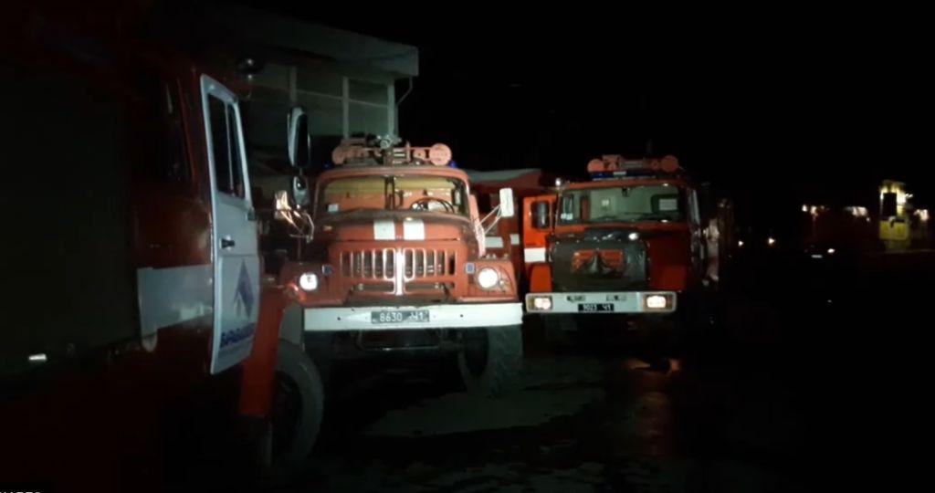 Вночі на території ТЦ «Барабашово» сталася пожежа
