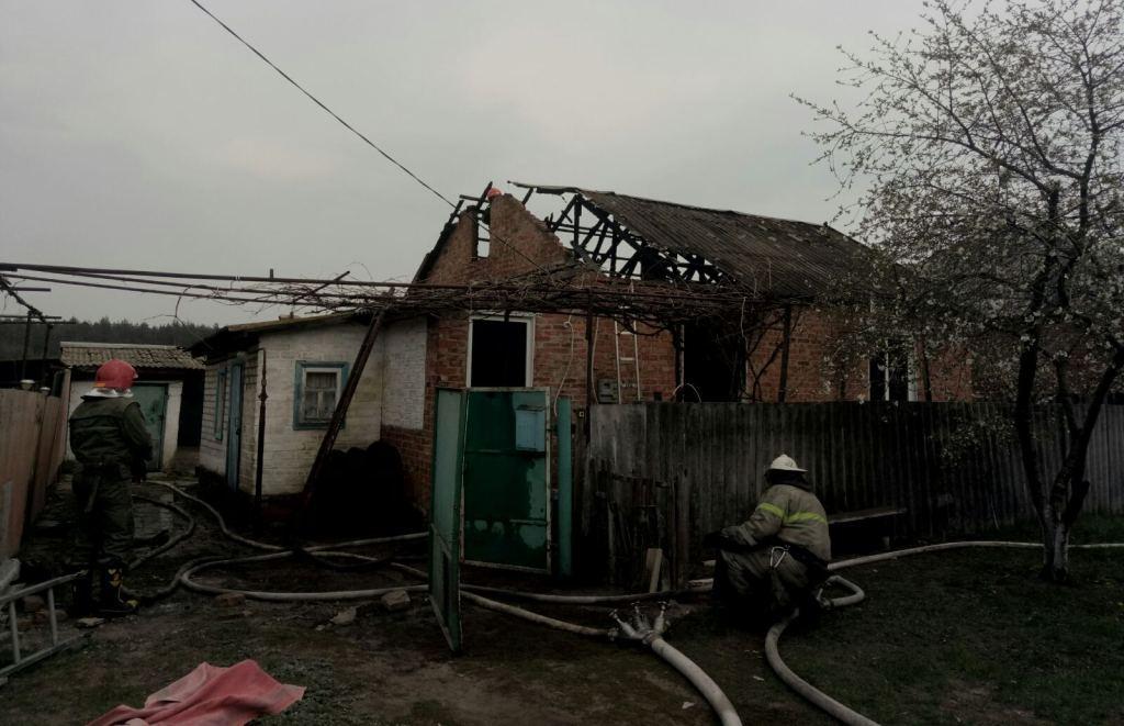 У Балаклійському районі згоріла приватна оселя і загинув чоловік