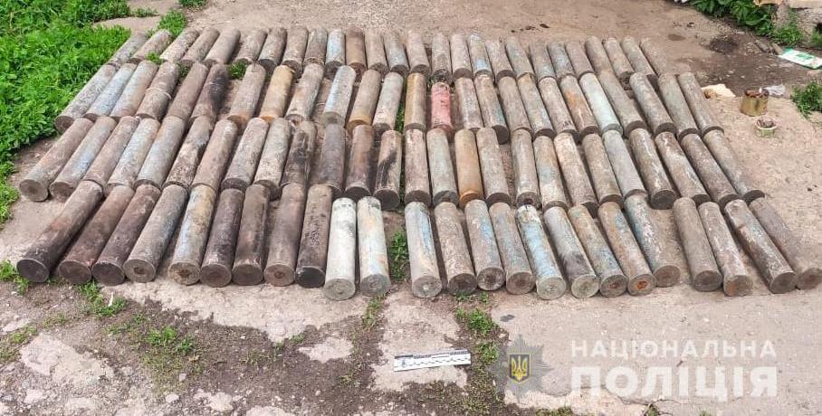 Харків'янин зберігав арсенал часів Другої світової війни