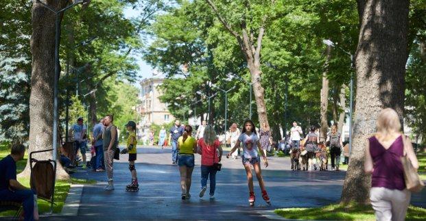 Молодіжний парк у Харкові відкрився після реконструкції