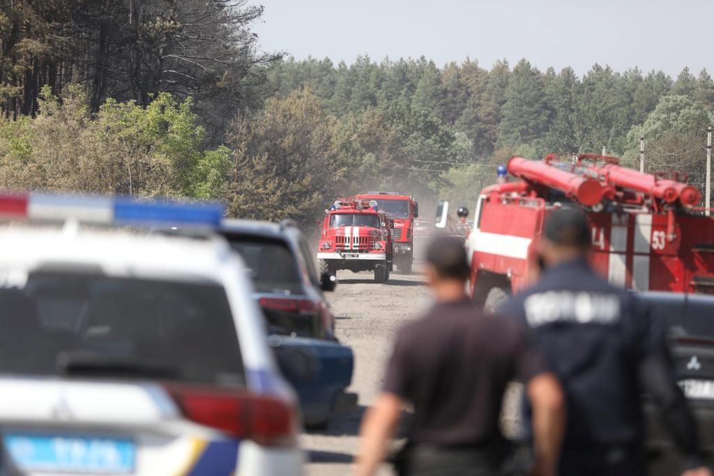 Волонтери збирають допомогу потерпілим від лісових пожеж