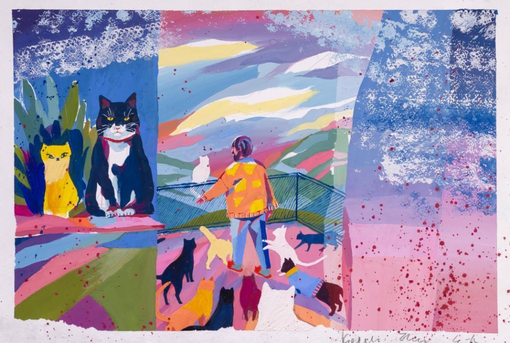 Художній музей запрошує на онлайн виставку юної художниці