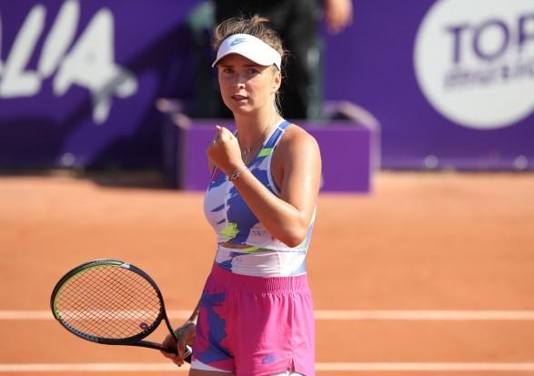 Тенісистка Світоліна пробилася до півфіналу турніру у Франції
