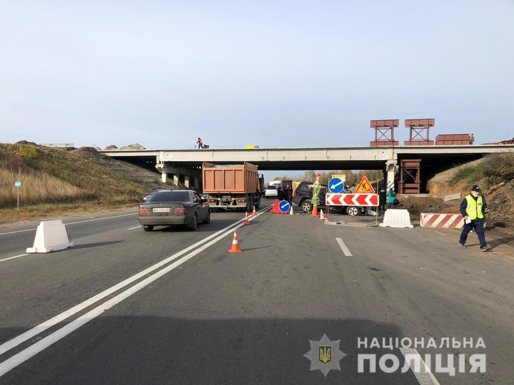 На Харківській трасі сталася смертельна ДТП