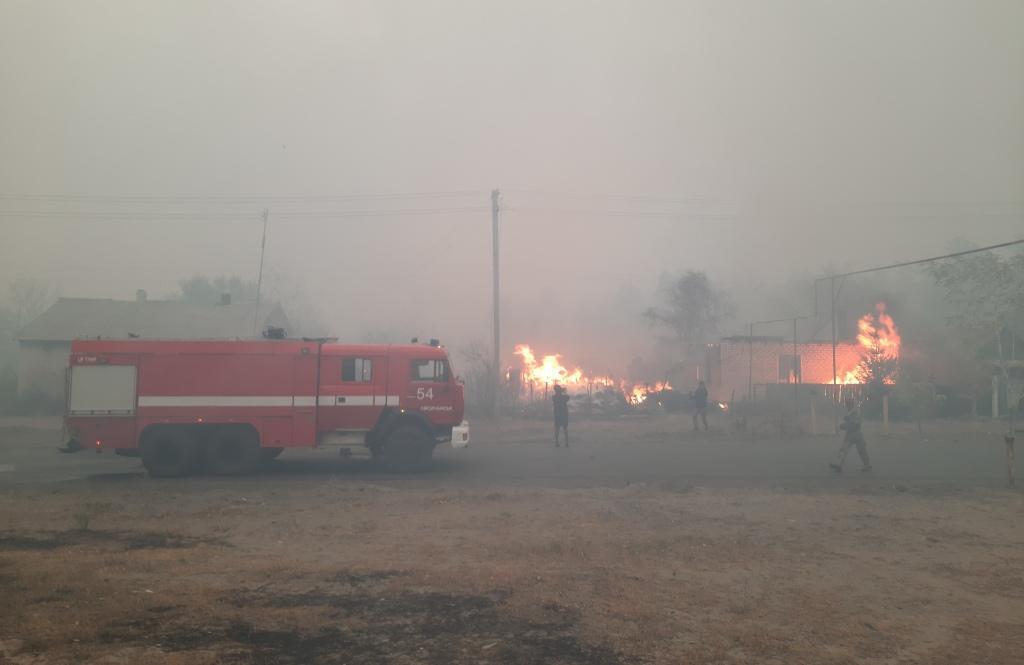 У Луганській області вирують пожежі: Загинули 9 людей