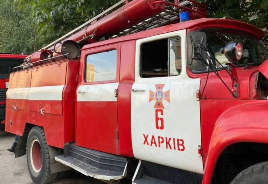 У Харківській багатоповерхівці сталася пожежа