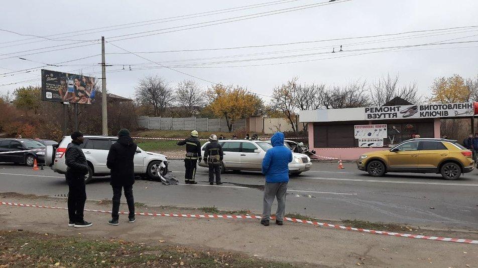 П'ятеро постраждалих в результаті аварії у Московському районі міста