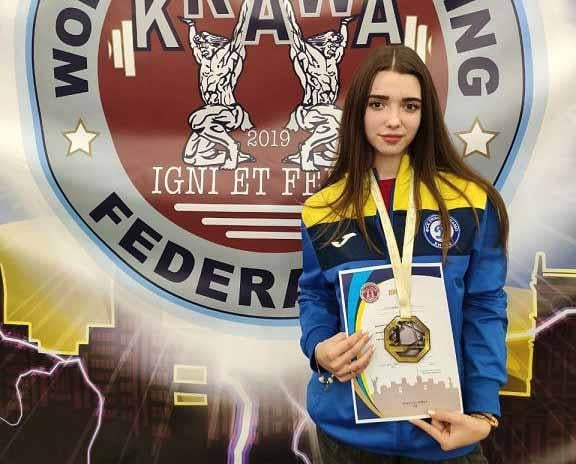 Курсантка ХНУПС завоювала золоту нагороду змагань з пауерліфтингу