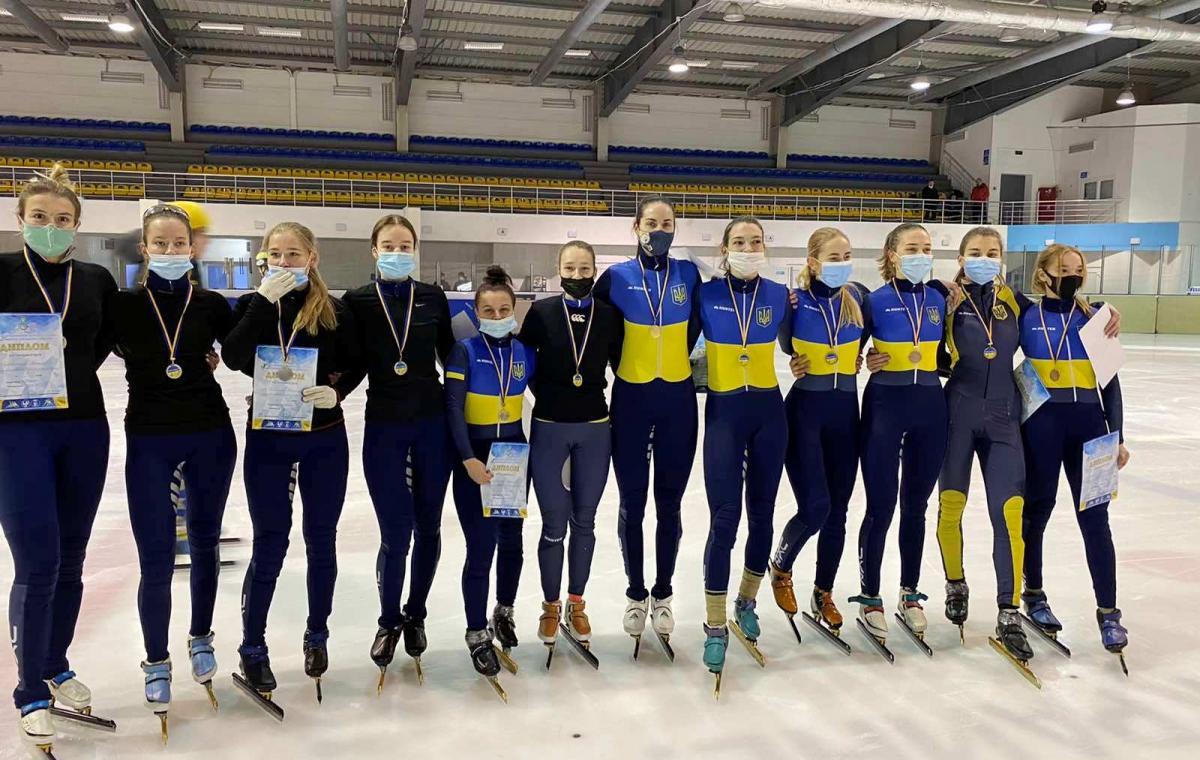 Харків'яни перемогли на Кубку України з шорт-треку