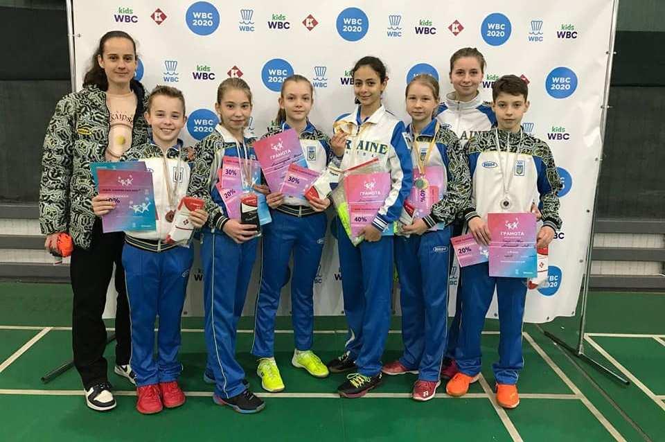 Харківські бадбінтоністи завоювали медалі на домашньому турнірі