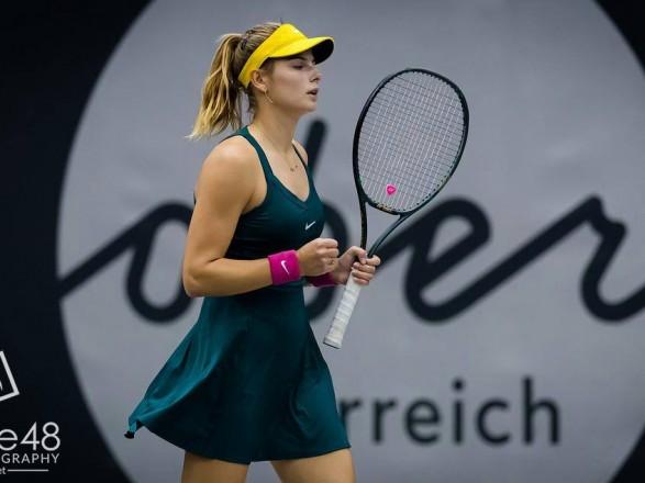 Тенісистка з України перемогла на старті турніру у Франції