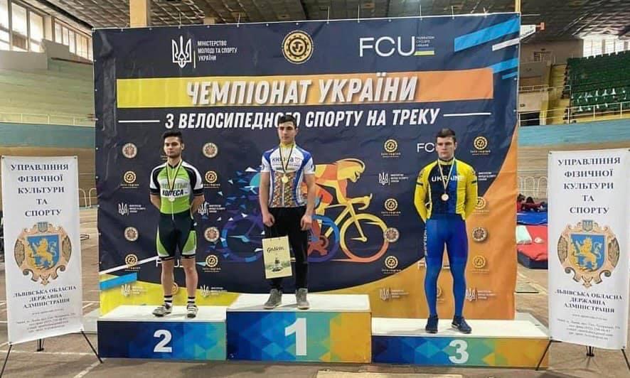 Харків'яни серед призерів Чемпіонату України з велоспорту