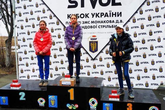 Олександра Бартишева перемогла на Кубку України зі стендової стрільби