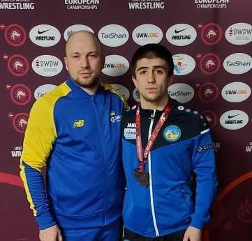 Каміль Керімов став бронзовим призером чемпіонату Європи з боротьби