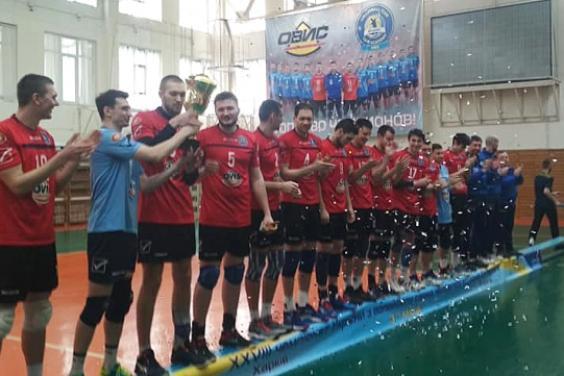 Харківські волейболісти стали бронзовими призерами чемпіонату України
