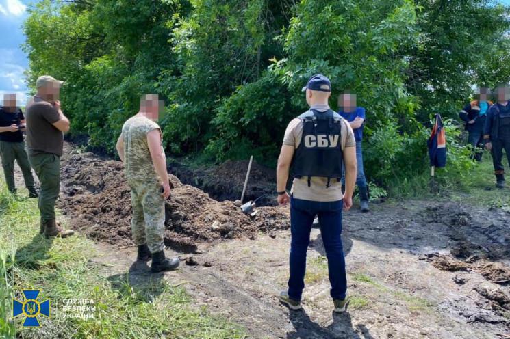 У Красноградському районі СБУ виявила вріз до магістрального газопроводу