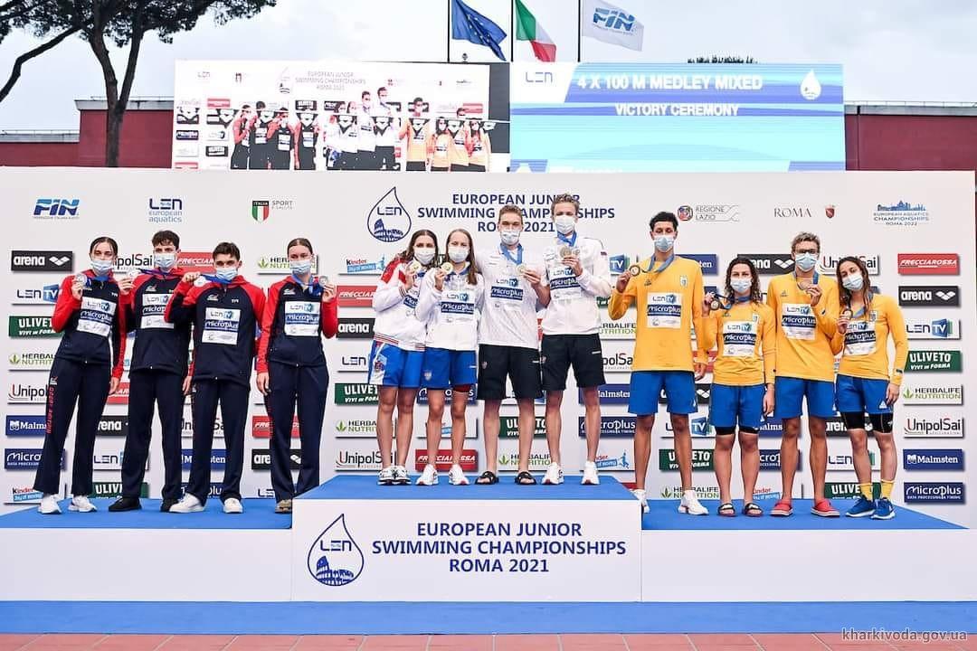 Каріна Снітко виборола бронзову медаль чемпіонату Європи з плавання