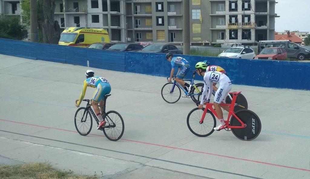 Харків'яни завоювали нагороди на домашньому чемпіонаті України з велоспорту на треку
