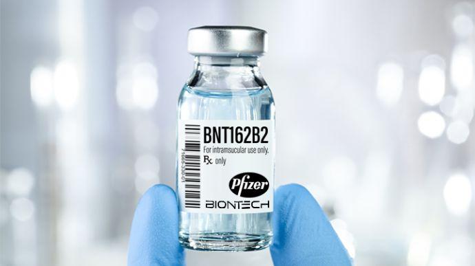 На Харківщину доставили частину вакцини Pfizer з порушенням умов транспортування
