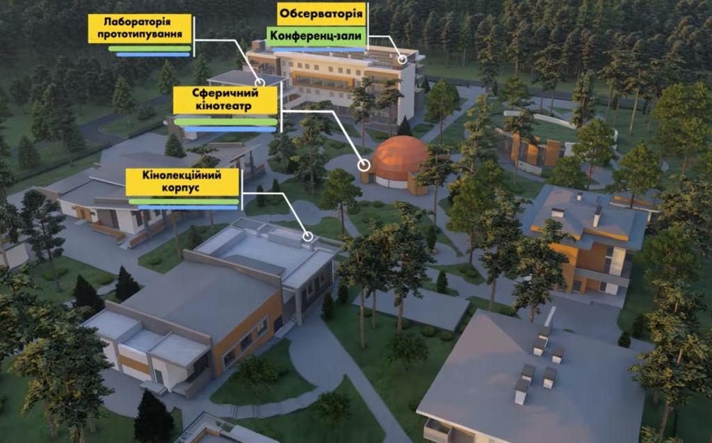 В Україні планують створити Міжнародний дитячий науковий центр