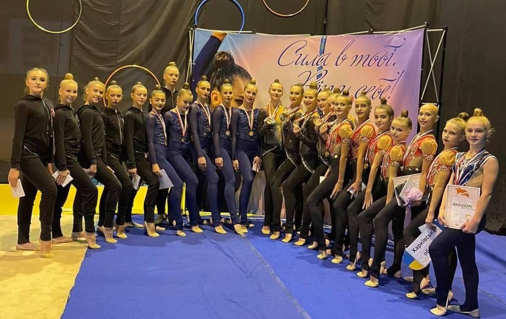 Гімнастки завоювали медалі Чемпіонату України