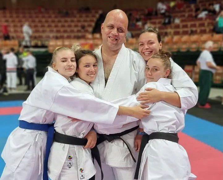 Харків'яни триумфально виступили на Чемпіонаті Європи з традиційного карате