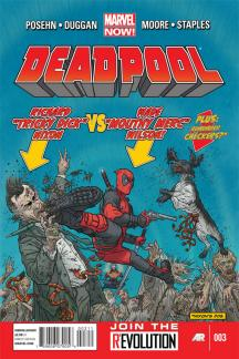 Deadpool #3 (2012) Comic Book Review