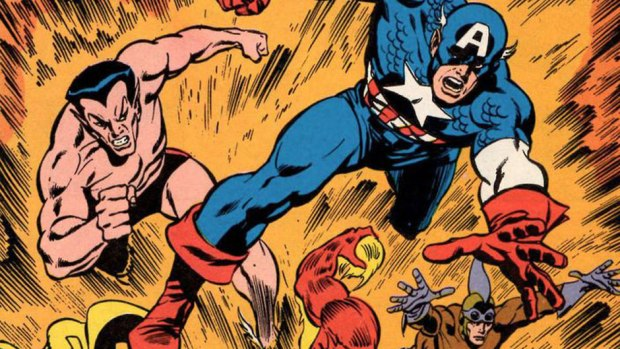 Captain America: The Kree-Skrull War
