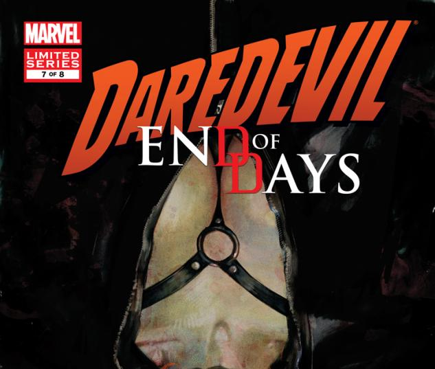 Daredevil: End of Days #7 cover by Klaus Janson Marvel