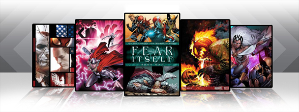 Marvel iPad/iPod App: Latest Titles 9/7/11