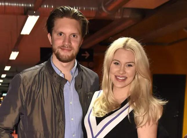 Blondinbella med maken Odd Spångberg