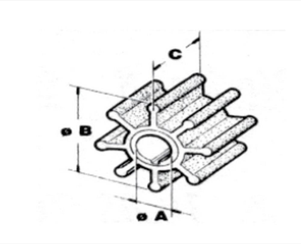 ROTOR moteur Evinrude hors-bord- JOHNSON- OMC ACCESSOIRES