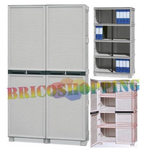 armoire penderie avec interieur resine la plus forte 100 externe x 172 x 39 4 pvc planchers made italy