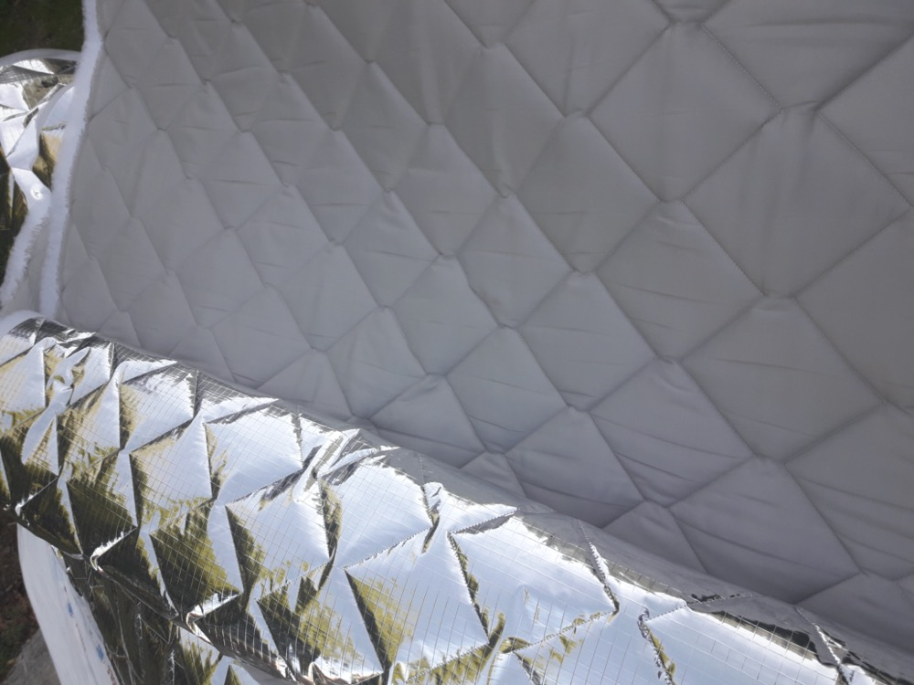 tissu matelasse thermique 7 couches