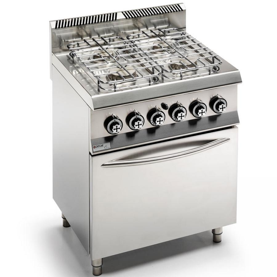 Cucina 4 fuochi a gas con forno a gas  Serie 600  4 Fuochi  A Gas  Cucine  Cucina  Negozio Online  Zanoni Group