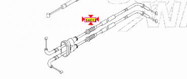 CAVO TRASMISSIONE GAS KAWASAKI ZX 636 ZX636 2005 2006